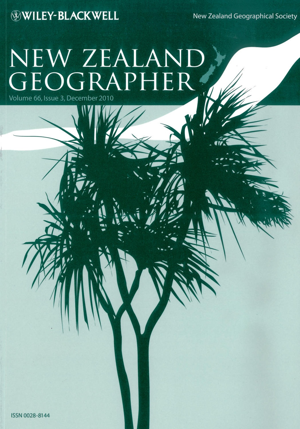 April 2015 Issue of the New Zealand Geographer