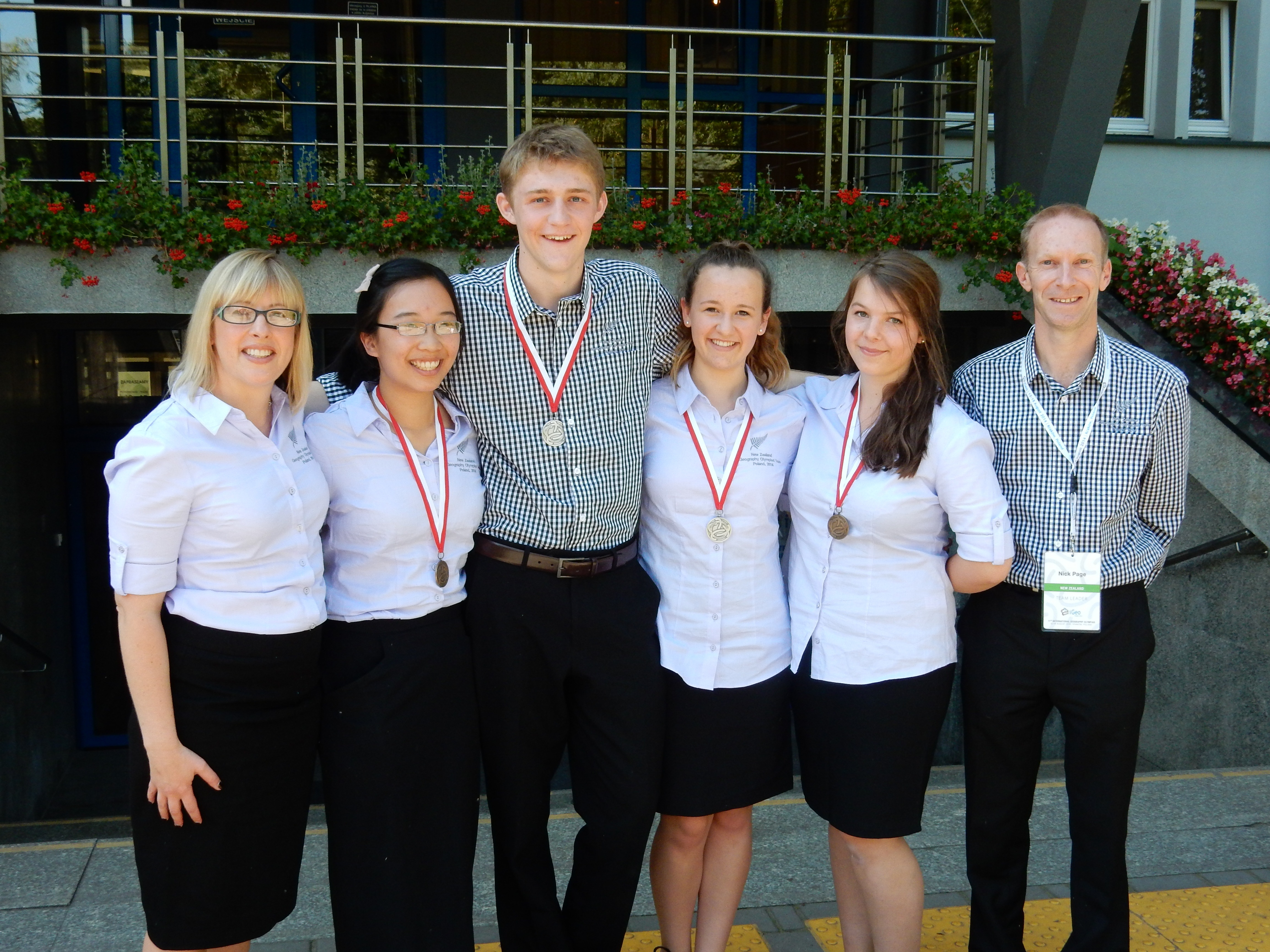 Olympiad Success for 2014 NZ Team